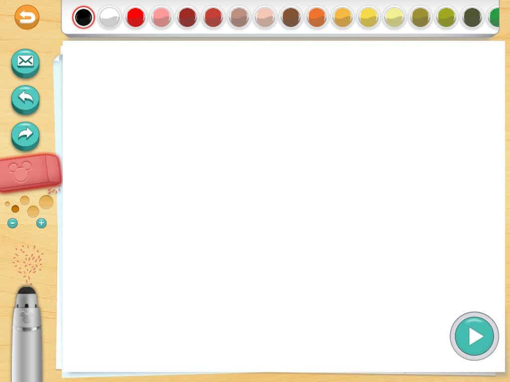 Test Du Disney Creativity Studio Sur Ipad Un Stylet Et Une