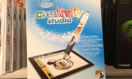 Test du Disney Creativity Studio sur iPad, un stylet et une application pour apprendre à dessiner ses personnages préférés.