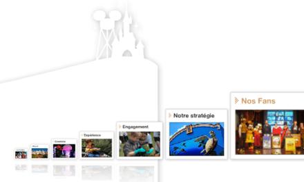 Disneyland Paris promeut une relation privilégiée avec ses fans via une infographie résultant d'une enquête réalisée en Novembre 2011.