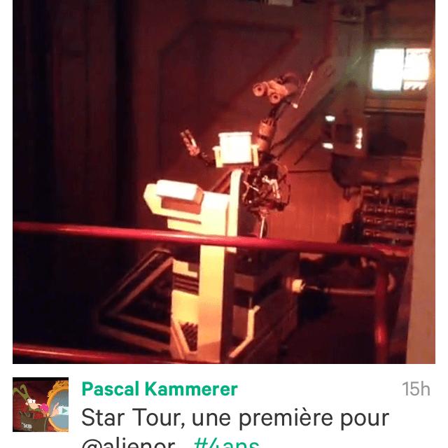Et Twitter lança VINE, le partage de vidéos de 6 secondes. Gadget ou véritable outil ? Concurrent ou complément d'Instagram ? Test à Disneyland Paris !
