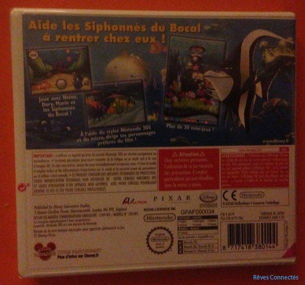Le Monde de Nemo - Course-vers-lOcean - Nintendo 3DS - 4189