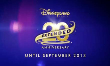 20th Anniversary Extended. Prolongation du 20ème Anniversaire de Disneyland Paris… Avec Dreams mais sans Tarzan ni Fantillusion ?