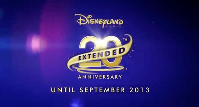 Disneyland Paris 20th Anniversary Extended