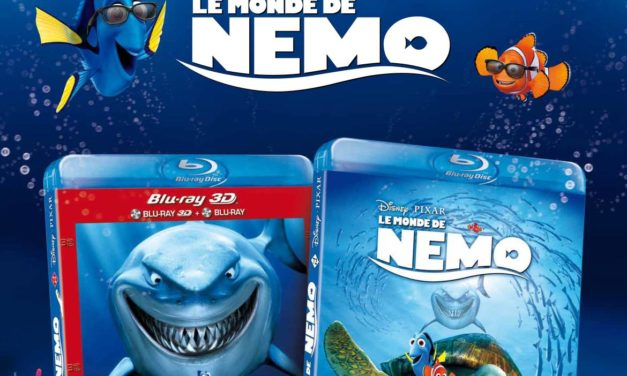 LE MONDE DE NEMO en Blu-ray 3D, Blu-ray, DVD le 24 Avril 2013. Jeu-Concours.