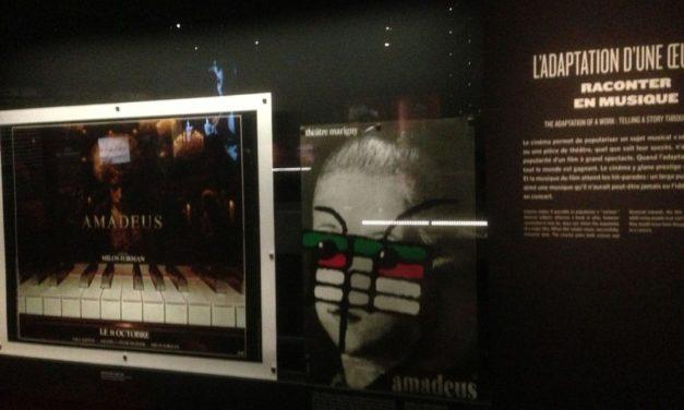 Chronique d'une visite de l'exposition «Musique & Cinéma : Le mariage du siècle» à la Cité de la musique.
