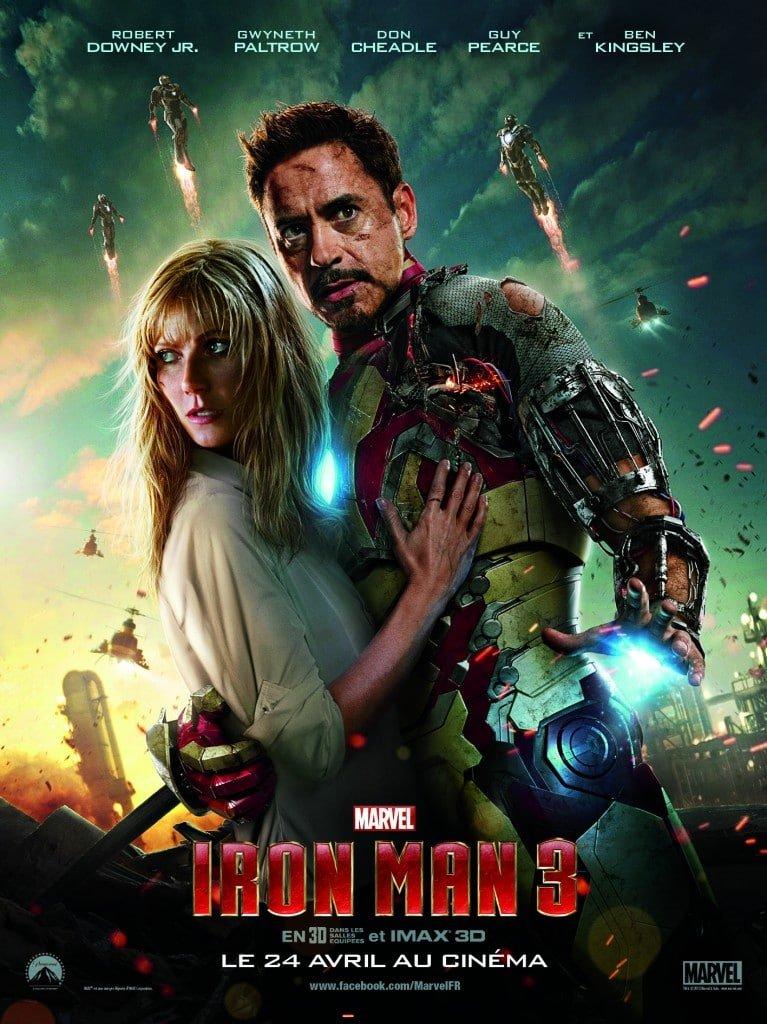 Iron Man 3 - Affiche Duo