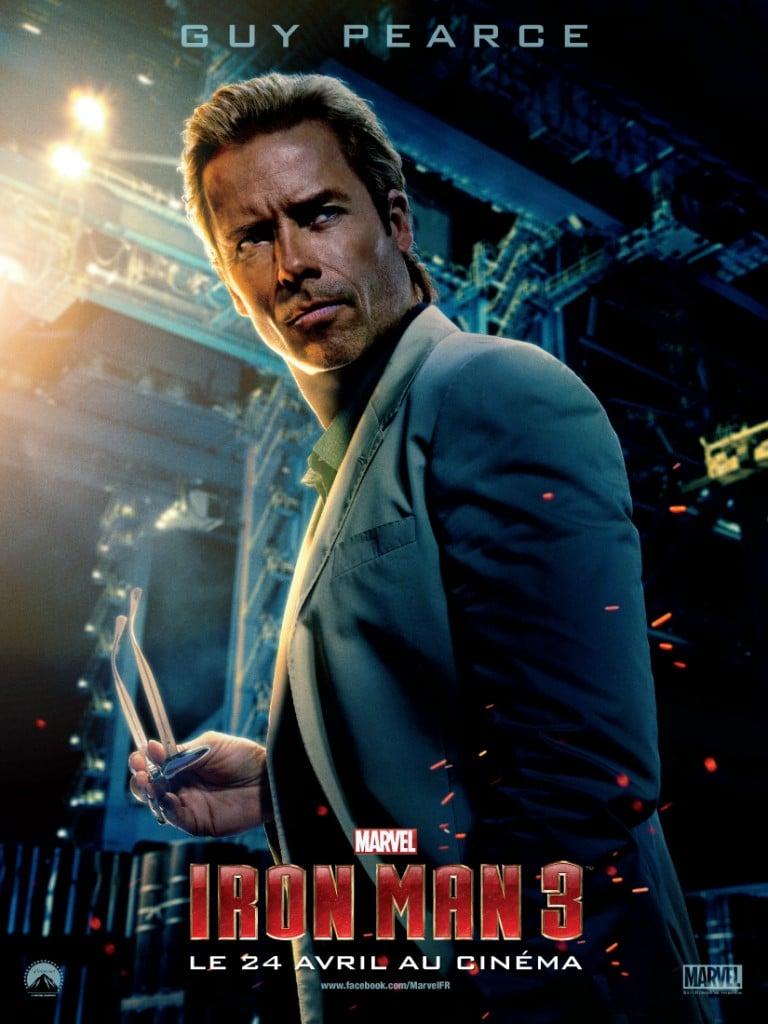 Iron Man 3 - Affiche Killian
