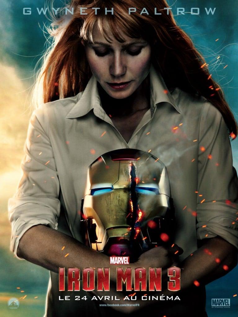 Iron Man 3 - Affiche Pepper
