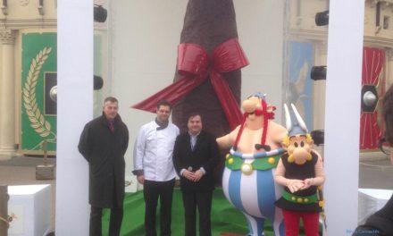 Chronique du lancement officiel de la saison 2013 du Parc Astérix sous le signe des fêtes de Pâques.