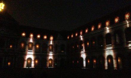 La Nuit aux Invalides. Un spectacle mœniaménique de projections 3D au sein de la prestigieuse Cour d'honneur. Chronique d'une avant-première.