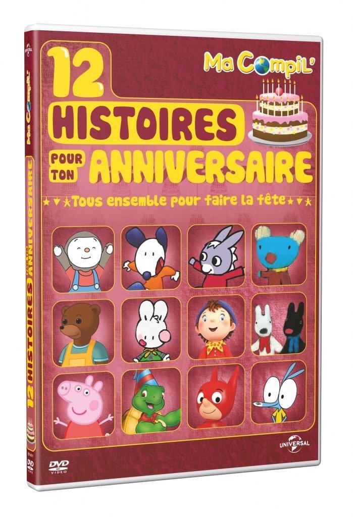 3D DVD Ma Compil - Pour ton anniversaire DEF