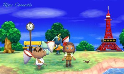 Campement club tortimer espace d tente et pour - Animal crossing new leaf salon de detente ...