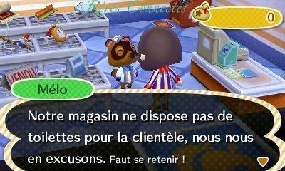 Des nouvelles de Lolola la ville ANIMAL CROSSING: NEW LEAF (Nintendo 3DS) de Léopoldine.