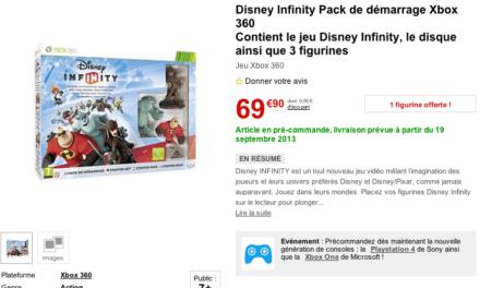 Disney confirme une sortie au 19 Septembre 2013 pour Disney Infinity (au lieu du 22 Août).