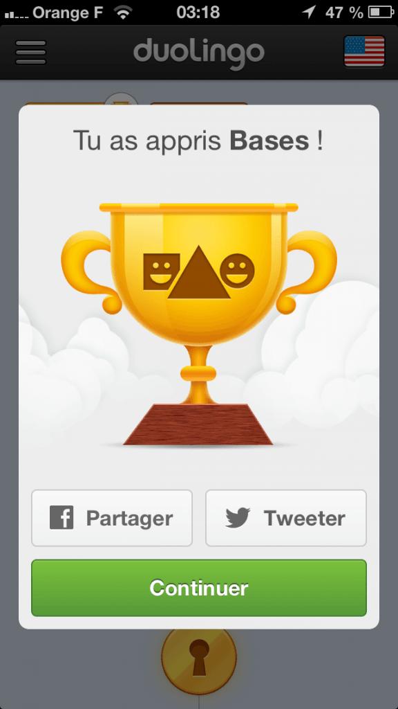 Duolingo iPhone - 9237