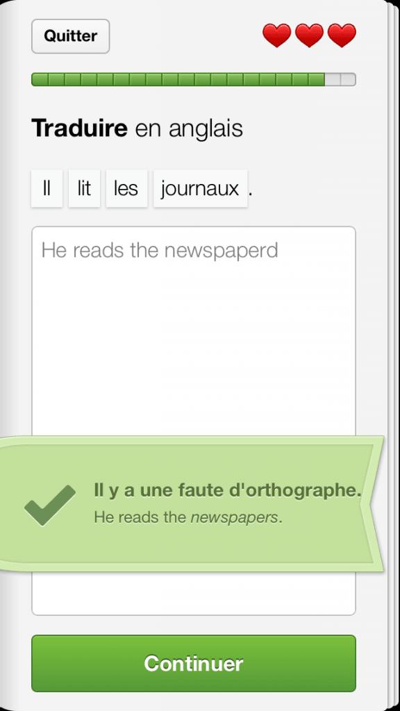 Duolingo iPhone - 9257