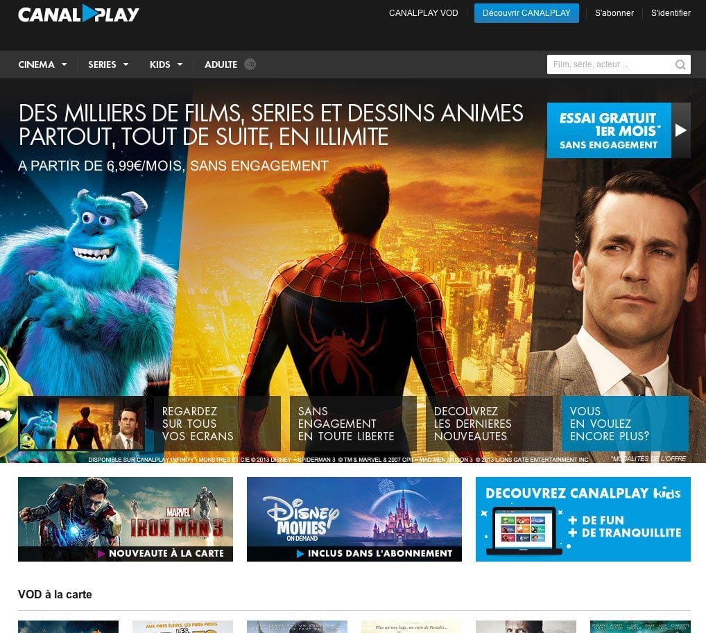 film canalplay infinity