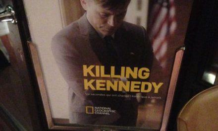 Killing Kennedy. Un téléfilm de qualité de National Geographic Channel qui nous éclaire sur certains aspects de l'assassinat du Président JFK jusqu'ici peu connus.