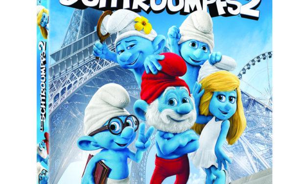Les Schtroumpfs 2 en DVD, Blu-Ray et VOD le 2 décembre. Que diriez-vous de les avoir chez vous pour Noël ? Jeu-Concours.