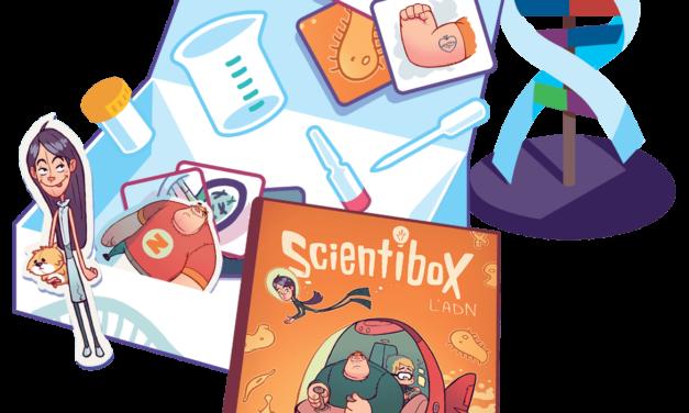 Lancement de la SCIENTIBOX, la première Box dédiée à la découverte des sciences par les 8-12 ans, lancée par NEVER TOO GEEK. À gagner sur Rêves Connectés / Papa Citoyen.