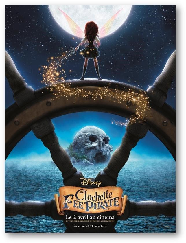 Affiche Clochette et la Fee Pirate