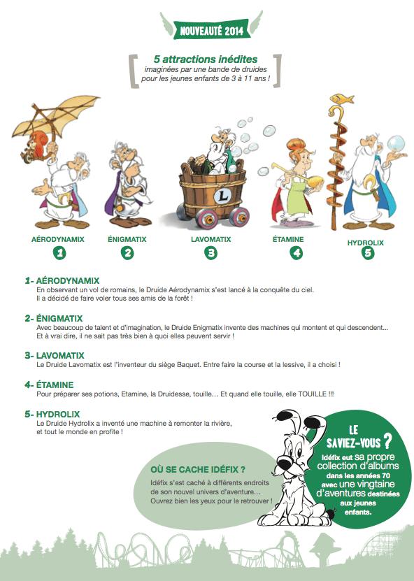 Parc Asterix Nouveautes 2014-2