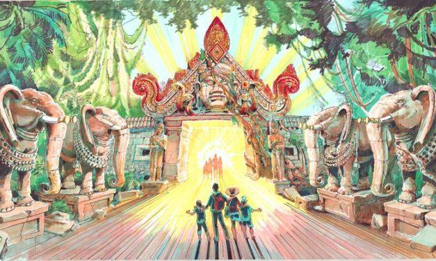"""PortAventura dévoile """"Angkor: Aventure au royaume perdu"""", un parcourt interactif sur des radeaux équipés de pistolets à eau."""