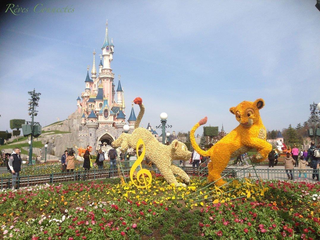 """Petite balade printanière à Disneyland Paris en attendant """"Swing into Spring"""". Rencontre avec les concepteurs de cette nouvelle saison. 4"""