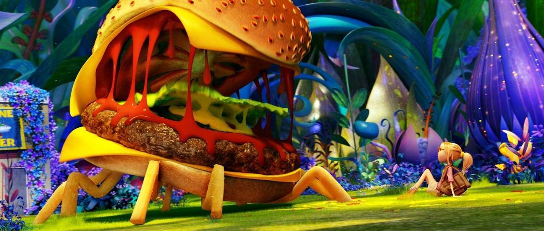 L ile des mian nimaux 2 hamburger