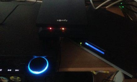 Nous avons testé la Somfy box pour démarrer notre nouvelle installation domotique.