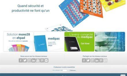 Le site web et le réseau social d'entreprise Medissimo.fr sur lesquels j'ai été Chef de Projet.