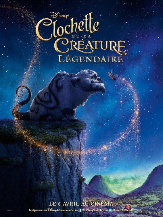 Clochette Affiche HD Clochette et la creature legendaire