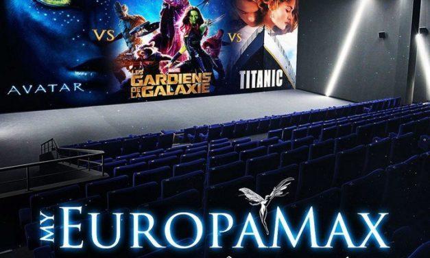 #Concours #MyEuropamax vous propose de voter pour revoir Avatar, Les Gardiens de la Galaxie ou Titanic dans des conditions idéales.
