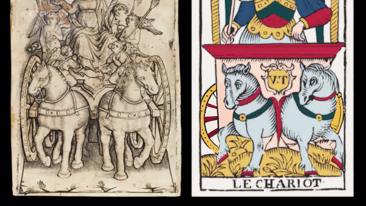 Le Char de la Foi gravé en 1460