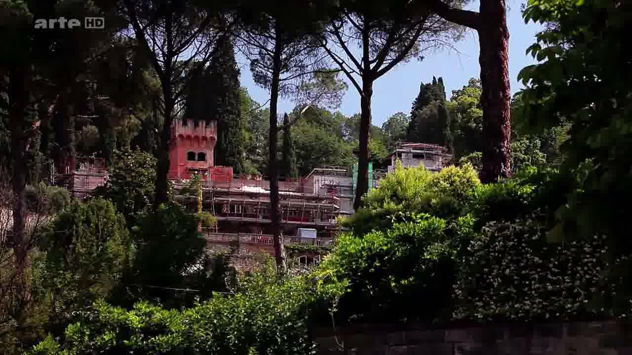 La villa de Marsile FICIN à Careghi (Florence) en restauration actuellement