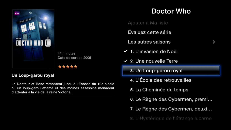 Apple TV : liste des épisodes