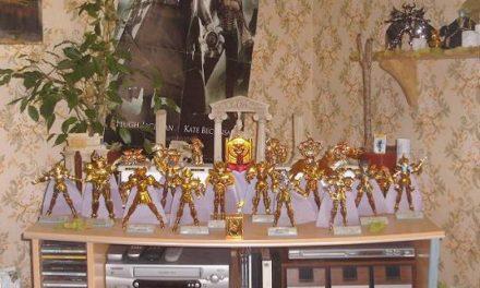Saint Seiya : Les Figurines Myth Cloth