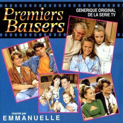 """Premiers Baisers. Chanté par """"Emmanuelle"""" (rien n'est laissé au hasard chez AB)"""