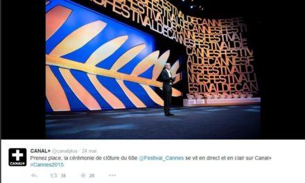 Cannes 2015 – Cérémonie de clôture du 68ème Festival de Cannes : Présentation des films et des lauréats.