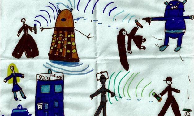 Chronique d'un anniversaire sous le signe de Doctor Who, après avoir vu en famille les 8 saisons de la nouvelle série. The Majestic Tale (Of a Madman in a Box).