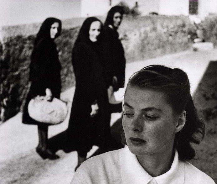 Ingrid BERGMAN dans Stromboli