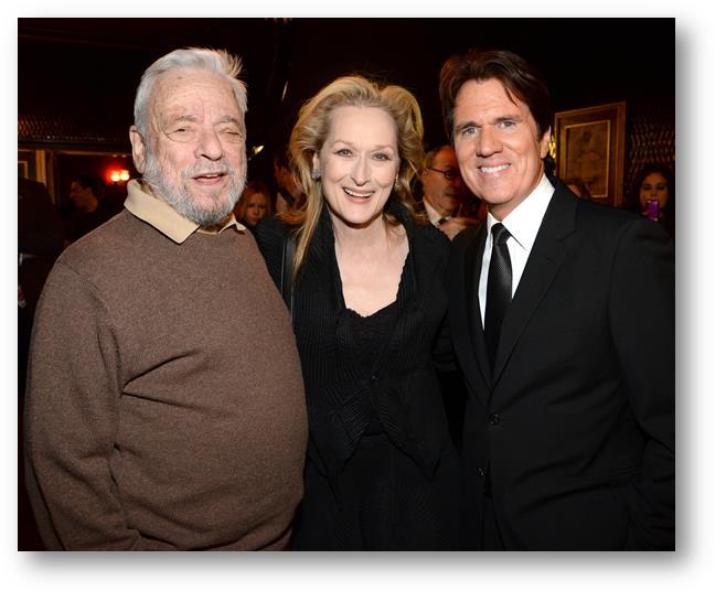 Stephen Sondheim, Meryl Streep & Rob MarShall