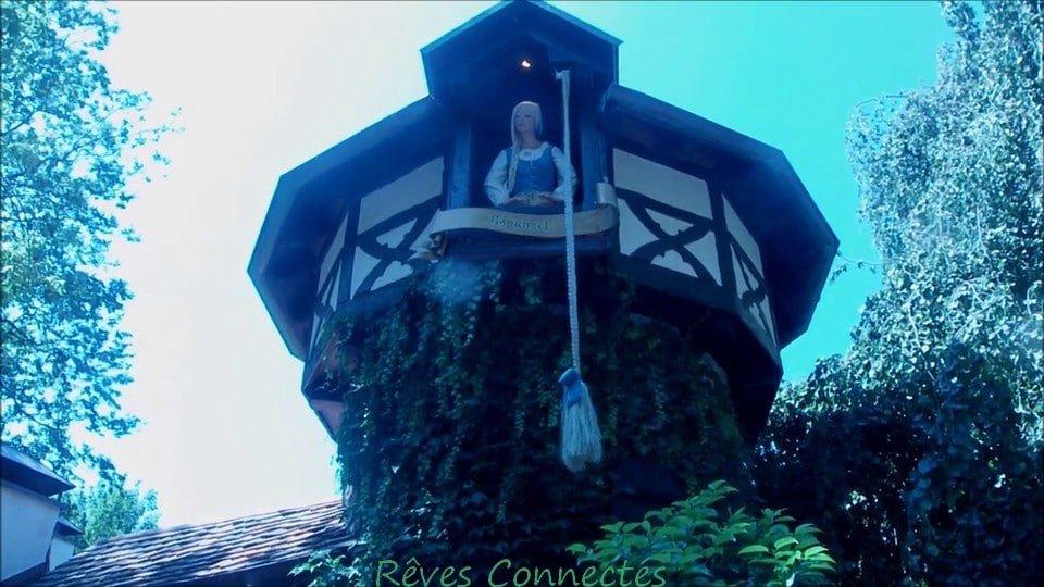 Rapunzel / Raiponce à Europapark dans La Forêt Grimm