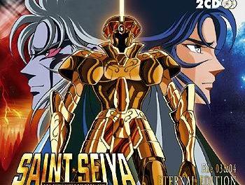Saint Seiya : Eternal Edition files 3 & 4. Les musiques de Saint Seiya enfin en édition française ! (2) (fin du sanctuaire et film Eris).