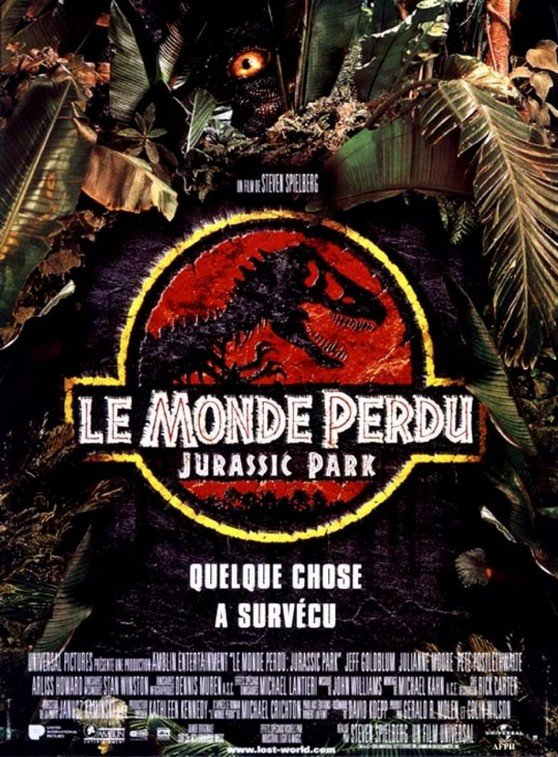 affiche_Le_Monde_perdu_Jurassic_Park