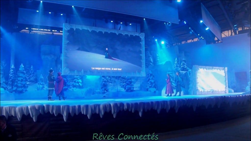 Frozen Summer Fun, chanton La Reine des Neiges à Disneyland Paris
