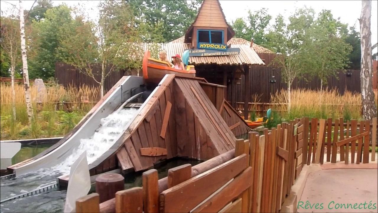 Hydrolyx dans la Forêt d'Idéfix au Parc Astérix