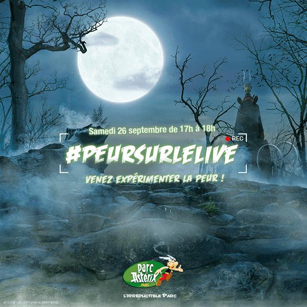 Concours. Testez avec nous, en live, votre résistance à la peur dans la célèbre « Maison de la peur » du Parc Astérix.