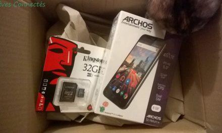 Prise en main du smartphone Android HELIUM PLUS 4G proposé par Archos.