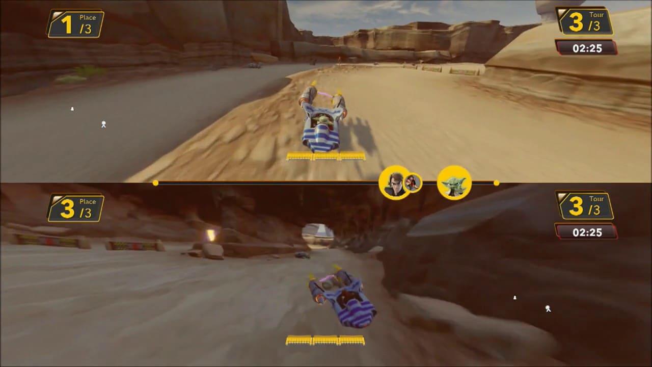 Course de modules sur Tatooine